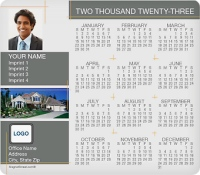 Popular Property Full Magnet Calendars