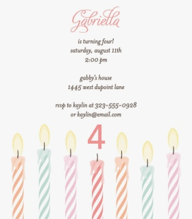Striped Monogram Birth Announcement Cards
