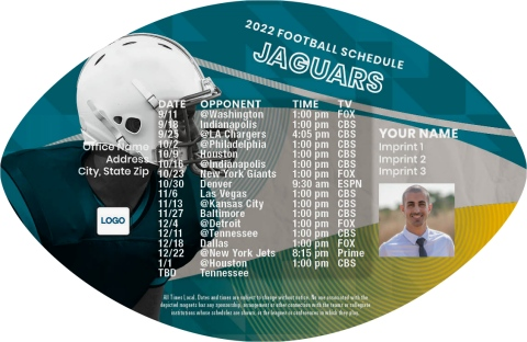 Jaguars Football Schedule Magnets