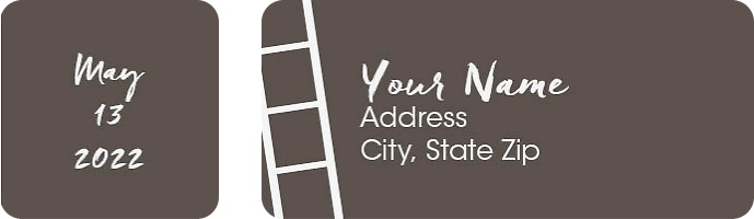 A Photo Booth Return Address Labels