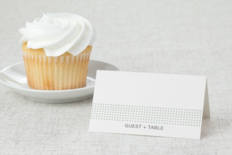 Fanciful Flowers Wedding Place Cards