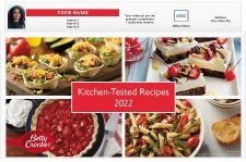 Kitchen-Tested Recipes from Betty Crocker Magnetic Calendar Pads