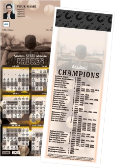 Padres Baseball Schedule MagnetCards