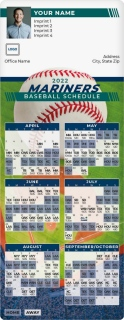 Mariners Baseball Schedule MagnetCards