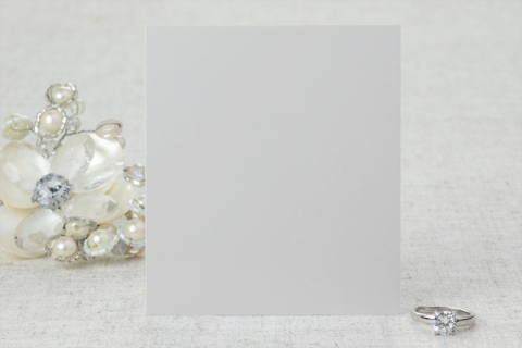 Diamonds and Pearls Save the Date Cards