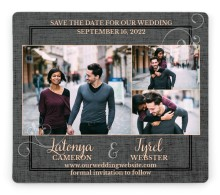 Swept Away Save the Date Magnets