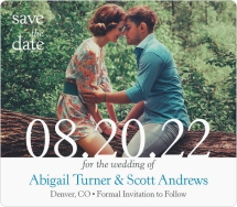 Devoted Save the Date Magnets