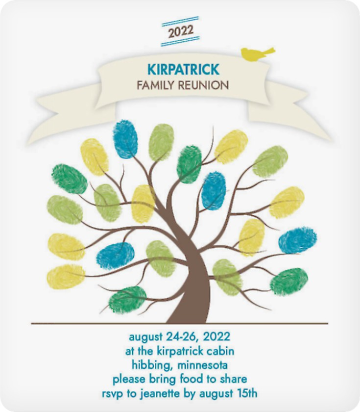 Shop Family Reunion Reunion Invitations – Family Reunion Invitation