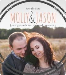 Dreamy Stripes Save the Date Magnets