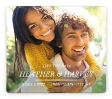Forever Exquisite Save the Date Magnets