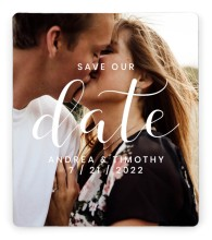 Modern Moments Save the Date Magnets