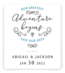 Greatest Adventure Save the Date Magnets