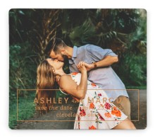 Names Framed Save the Date Magnets