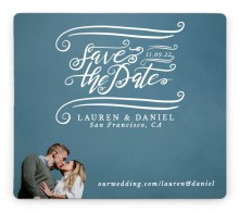 Dizzy in Love Save the Date Magnets