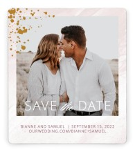 Tender Mist Save the Date Magnets