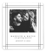 Mod Frame Save the Date Magnets