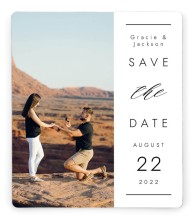 Perfect Together Save the Date Magnets