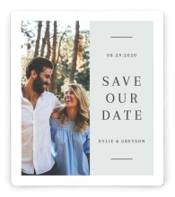 Sweet Request Save the Date Magnets