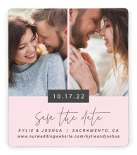 Corner Photos Save the Date Magnets