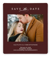 Enchanted Bliss Save the Date Magnets