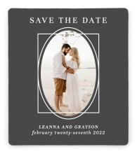 Graphic Enclosure Save the Date Magnets