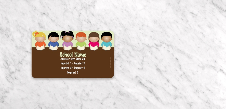 Business Card Magnet Front