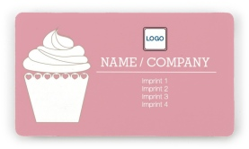 Cupcake Bakery Magnetic Business Cards