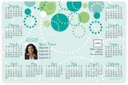 Circles Full Magnet Calendars