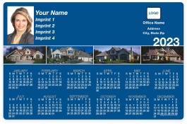 House Panoramic Collection Full Magnet Calendars