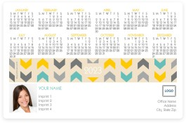 Tribal Chic Full Magnet Calendars