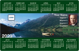 Mountain Valley Full Magnet Calendars
