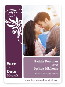 Alluring Affection Save the Date Magnets