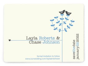 Tree Top Love Save the Date Magnets