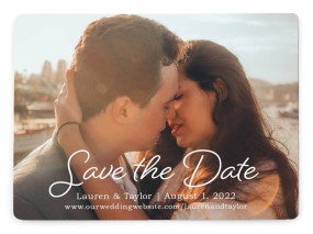 Close to You Save the Date Magnets