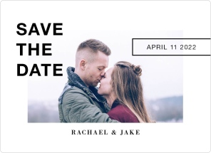You.Me.Forever. Save the Date Magnets