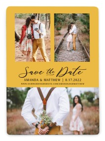 Lost in Love Save the Date Magnets