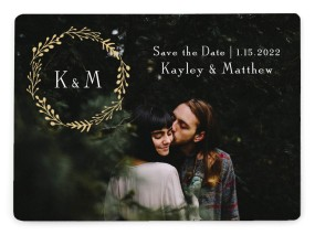 Enchanting Crown Save the Date Magnets