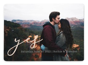 My Answer Save the Date Magnets