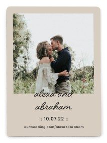 Simple Things Save the Date Magnets