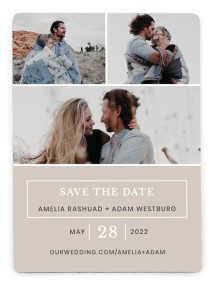 Sweetly Cozy Save the Date Magnets