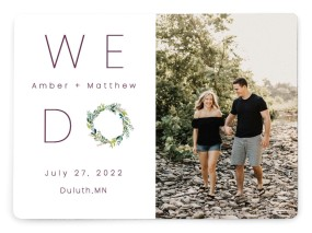 Love Encircled Save the Date Magnets