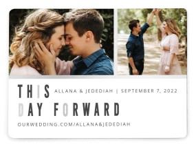 A Day of I Do's Save the Date Magnets