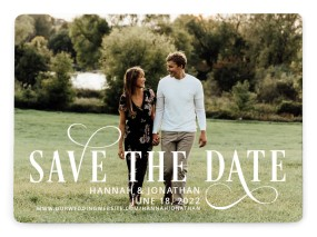 Love Infinity Save the Date Magnets