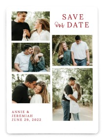 Sweetly Composed Save the Date Magnets