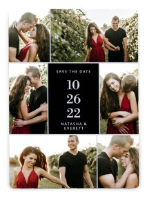 Multitude Magic Save the Date Magnets