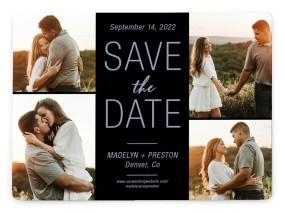 Romantic Glow Save the Date Magnets