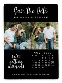 It's Our Date Save the Date Magnets