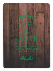 Rustic Sprigs Save the Date Magnets