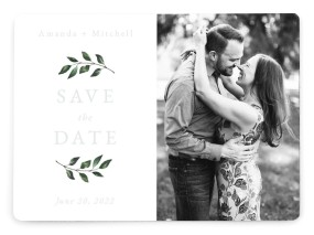 Sprinkled Sprig Save the Date Magnets