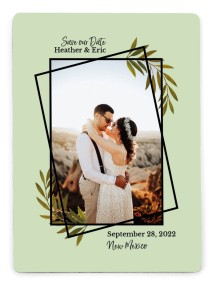 Gilded Sage Save the Date Magnets